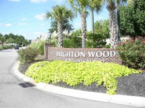 Brighton Woods is located off of Highway 707 in Myrtle Beach, SC.
